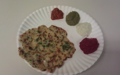 Aug. 28: Indian Crepes and Chutneys