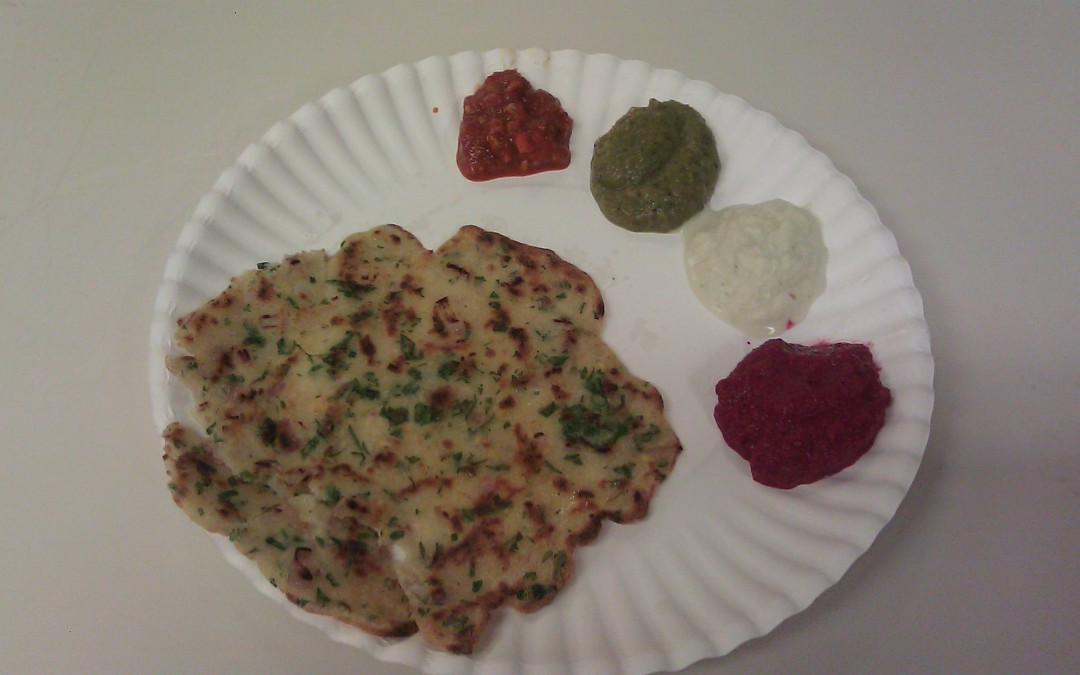 Aug. 31: Indian Crepes and Chutneys