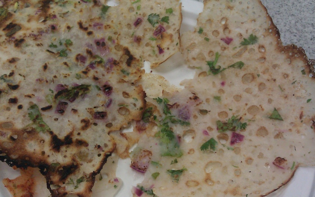 April 18: Indian Crepes and Chutneys