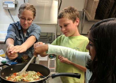 Tweens and Teens Hands-on cooking classes
