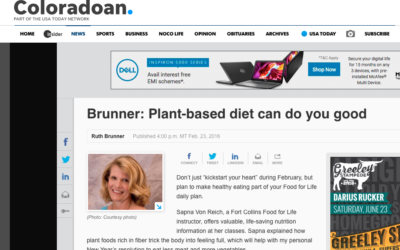 Plant-based diet can do you good