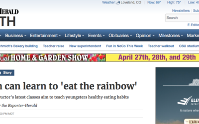 Children can learn to 'eat the rainbow'