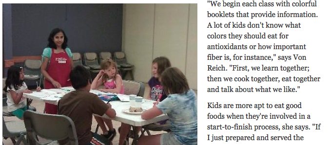 Food for Life classes help Northern Colorado children learn healthy eating info