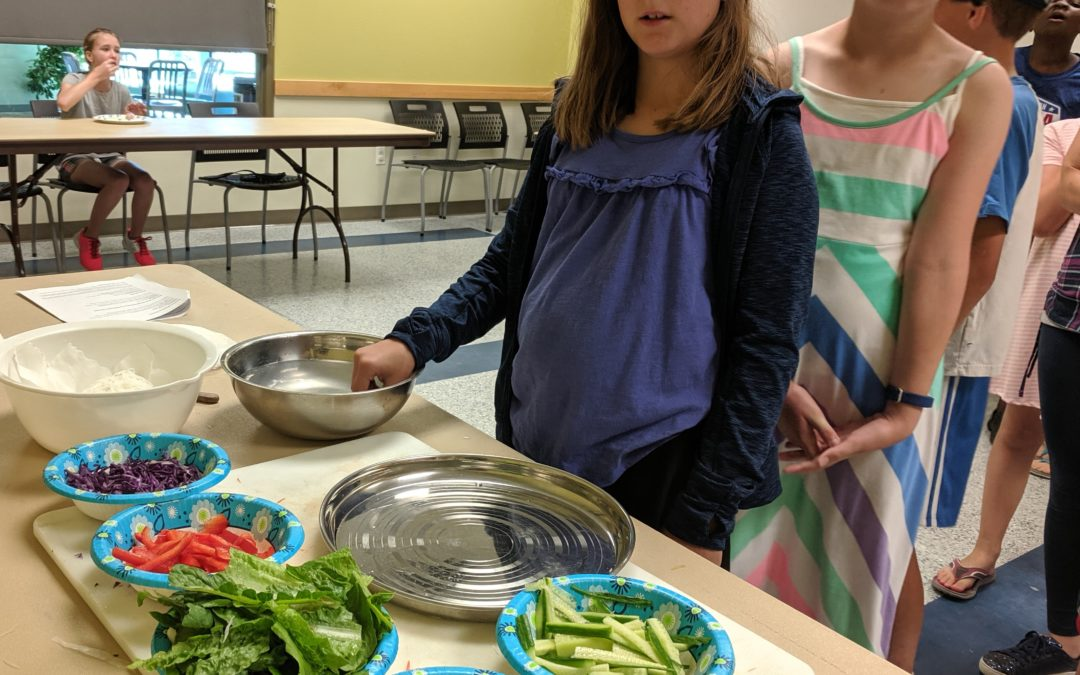 Sept. 19: Youth Cooking – Tasty Wraps