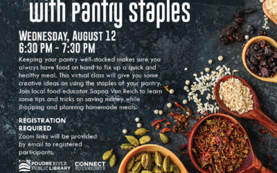 Aug. 12: Healthy Eating with Pantry Staples